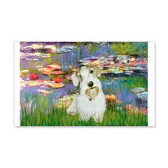 Lilies (#2)/Sealyham L2 Wall Decal