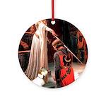 Accolade/Sealyham L1 Ornament (Round)