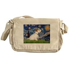 Starry Night/Sealyham L1 Messenger Bag