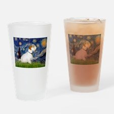 Starry Night/Sealyham L1 Drinking Glass