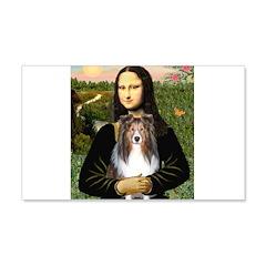 Mona Lisa's Sheltie (S) Wall Decal