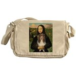 Mona Lisa's Sheltie (S) Messenger Bag