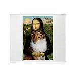 Mona's Sable Sheltie Throw Blanket