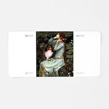 Ophelia / Shelie tri Aluminum License Plate