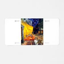 Cafe / Sheltie Aluminum License Plate