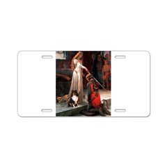 Accolade / Sheltie tri Aluminum License Plate