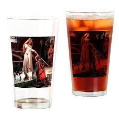 Accolade / 3 Shelties Drinking Glass