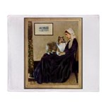 Whistler's / Sheltie Throw Blanket