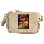 Angel3/Shih Tzu (P) Messenger Bag