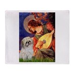Angel3/Shih Tzu (P) Throw Blanket