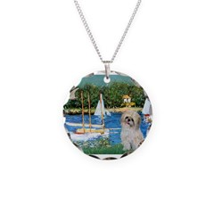 Bassin/Shih Tzu (P) Necklace