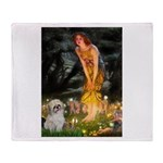 MidEve/Shih Tzu (P) Throw Blanket