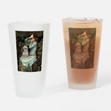 Ophelia/Shih Tzu (P) Drinking Glass