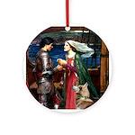 Tristan & Isolde Husky Ornament (Round)