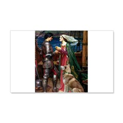 Tristan & Isolde Husky Wall Decal