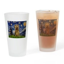 Starry Night / Silky T Drinking Glass