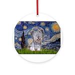 Starry / Skye #3 Ornament (Round)