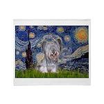 Starry / Skye #3 Throw Blanket
