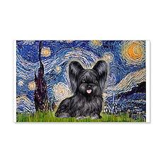 Starry / Black Skye Terrier Wall Decal