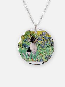 Irises / Toy Fox T Necklace