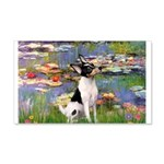 Lilies / Toy Fox T 20x12 Wall Decal