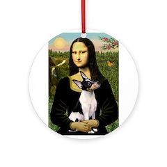 Mona / Toy Fox T Ornament (Round)