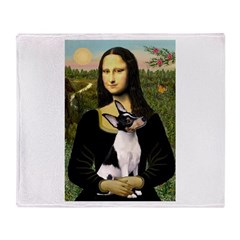 Mona / Toy Fox T Throw Blanket