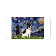Starry / Toy Fox T Aluminum License Plate