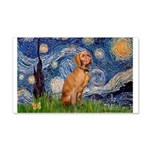 Starry Night / Vizsla 20x12 Wall Decal