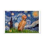 Starry Night / Vizsla 20x12 Wall Decal
