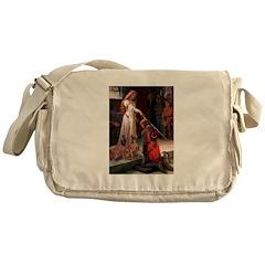 Accolade / Weimaraner Messenger Bag