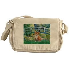 Bridge / Welsh Corgi (p) Messenger Bag