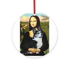 Mona Lisa / Corgi (bibl)Mona's Pembroke Ornament (
