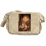 Queen / Welsh Corgi Messenger Bag