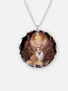 The Queen's Corgi Necklace