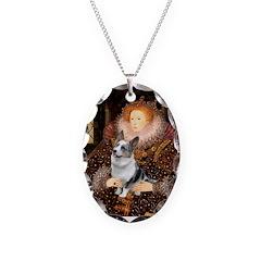 The Queen's Corgi (Bl.M) Necklace