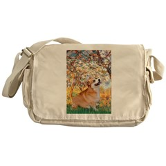 Spring / Corgi Messenger Bag