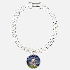 Starry - Westie (P) Charm Bracelet, One Charm