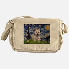 Starry - Westie (P) Messenger Bag