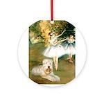 Dancer1/Wheaten T Ornament (Round)
