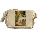 Dancer1/Wheaten T Messenger Bag