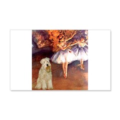Dancer1/Wheaten T (7) Wall Decal