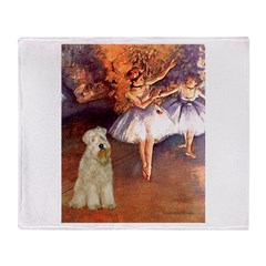 Dancer1/Wheaten T (7) Throw Blanket