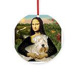 Mona's Wheaten Ornament (Round)