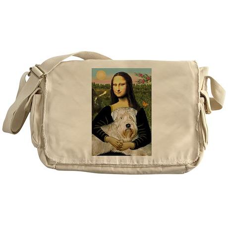 Mona's Wheaten Messenger Bag