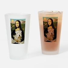 Mona's Wheaten Drinking Glass