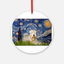 Starry / Wheaten T #1 Ornament (Round)