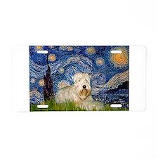 Starry / Wheaten T #1 Aluminum License Plate