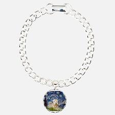 Starry / Wheaten T #1 Bracelet