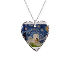 Starry / Wheaten T #1 Necklace